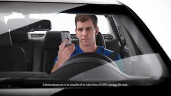 2017 Toyota Camry TV Spot, 'How to With Eli Manning: Wireless Charging' - Thumbnail 4