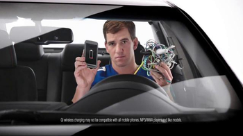 2017 Toyota Camry TV Spot, 'How to With Eli Manning: Wireless Charging' - Thumbnail 5