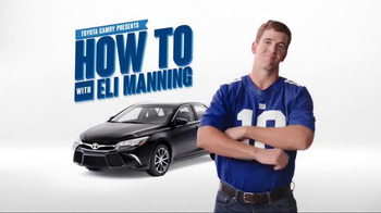 2017 Toyota Camry TV Spot, 'How to With Eli Manning: Wireless Charging' - Thumbnail 8