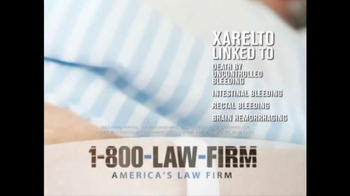 1-800-LAW-FIRM TV Spot, 'Xarelto' - Thumbnail 1