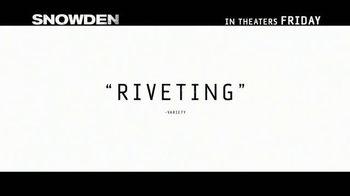 Snowden - Alternate Trailer 25