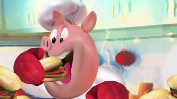 Pop the Pig TV Spot, 'Belly-Busting Fun' - Thumbnail 1