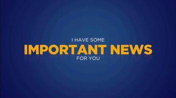 J.D. Mellberg TV Spot, \'Important News\'