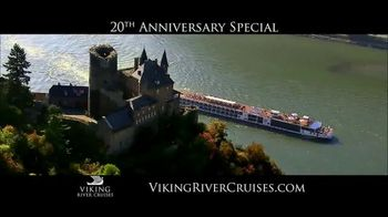 Viking Cruises 20th Anniversary Special TV Spot, '2017 Savings'