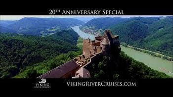 Viking Cruises 20th Anniversary Special TV Spot, '2017 Savings' - Thumbnail 1