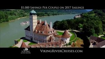 Viking Cruises 20th Anniversary Special TV Spot, '2017 Savings' - Thumbnail 3