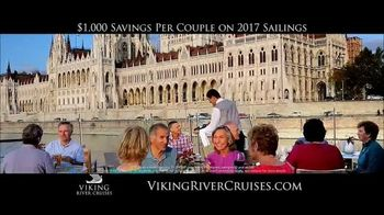 Viking Cruises 20th Anniversary Special TV Spot, '2017 Savings' - Thumbnail 4