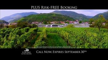 Viking Cruises 20th Anniversary Special TV Spot, '2017 Savings' - Thumbnail 7