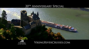Viking River Cruises 20th Anniversary Special TV Spot, '2017 Savings'