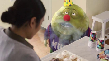Mucinex Fast-Max Clear & Cool Adult Liquid TV Spot, 'Birthday Party' - 14922 commercial airings