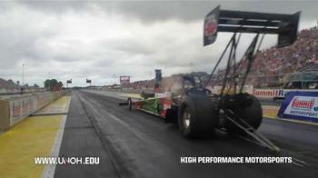 University of Northwestern Ohio TV Spot, 'High Performance Motorsports' - Thumbnail 1