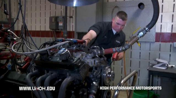 University of Northwestern Ohio TV Spot, 'High Performance Motorsports' - Thumbnail 2