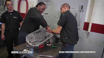 University of Northwestern Ohio TV Spot, 'High Performance Motorsports' - Thumbnail 3