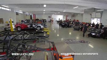 University of Northwestern Ohio TV Spot, 'High Performance Motorsports' - Thumbnail 4