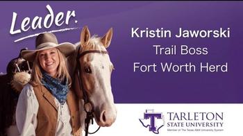 Tarleton State University TV Spot, 'Leaders: Kristin and Mark'