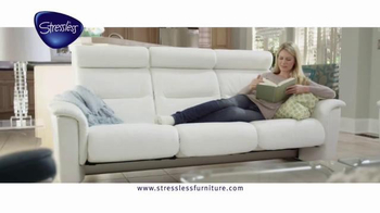 Ekornes Stressless Furniture TV Spot, 'Calm & Relaxing' - Thumbnail 2