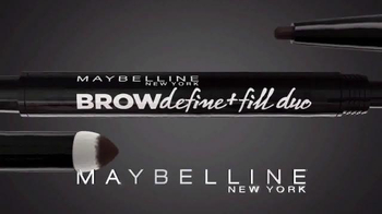Maybelline New York Brow Define + Fill Duo TV Spot, 'Brows That Wow' - Thumbnail 3