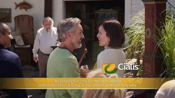 Cialis TV Spot, \'A Moment Turns Romantic: $200 Savings Card\'