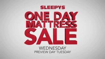 Sleepy's One Day Mattress Sale TV Spot, 'Sealy and Serta'
