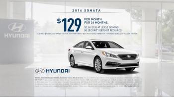 2016 Hyundai Sonata TV Spot, 'Best in His Class' - Thumbnail 5