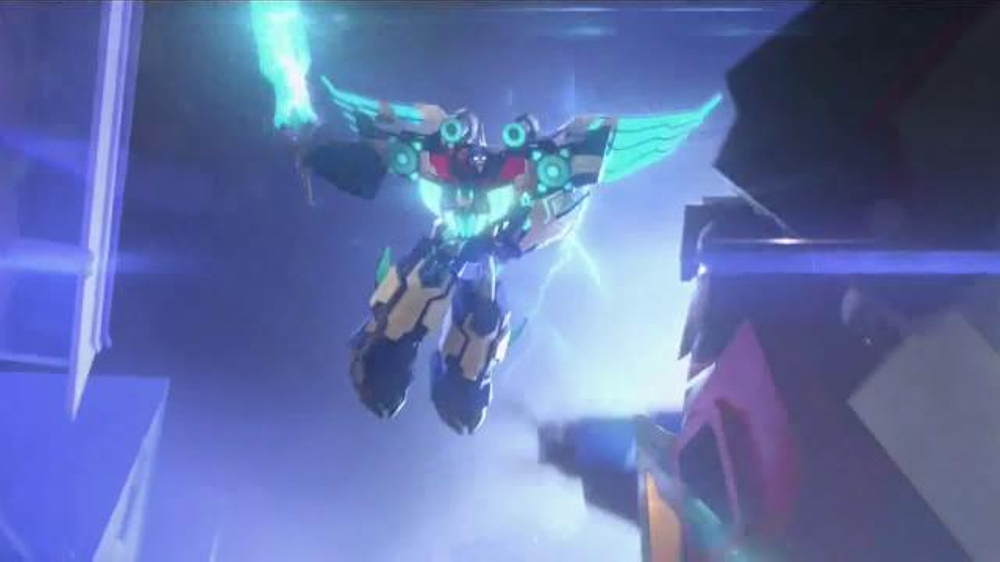 Step Into The Light Adorable Transformers Power Surge Optimus Prime TV Commercial 'Step Into The