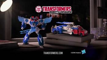 Transformers Power Surge Optimus Prime TV Spot, 'Step Into the Light' - Thumbnail 5