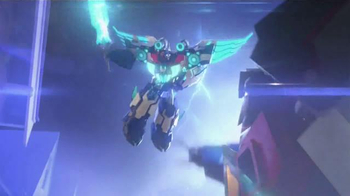Transformers Power Surge Optimus Prime TV Spot, 'Step Into the Light' - 1600 commercial airings