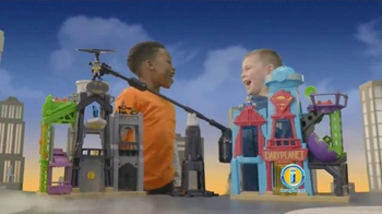 Imaginext DC Super Friends Super Hero Flight City TV Spot, 'Adventure' - Thumbnail 8