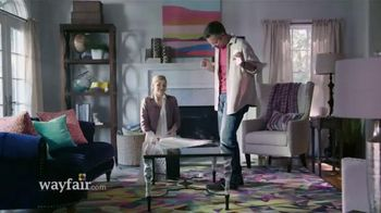 Wayfair TV Spot, 'Save a Ton: Drop the Mic'