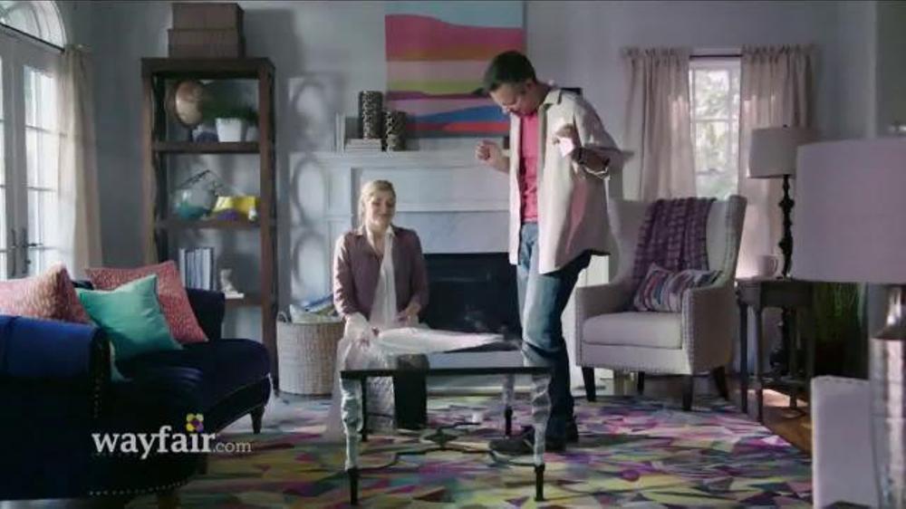 Wayfair TV Commercial, 'Save a Ton: Drop the Mic'