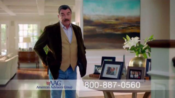 AAG Reverse Mortgage TV Spot, 'Part of the Family' Feat.Tom Selleck - Thumbnail 2