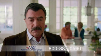 AAG Reverse Mortgage TV Spot, 'Part of the Family' Feat.Tom Selleck - Thumbnail 3