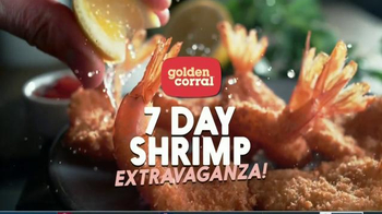 Golden Corral 7 Day Shrimp Extravaganza TV Spot, 'All Kinds of Shrimp'