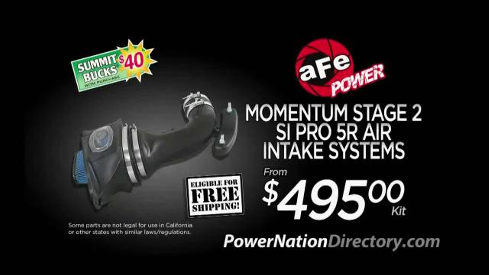 PowerNation Directory TV Commercial, 'Air Intake Systems, Tuner and Wheels'