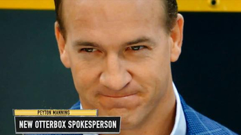 OtterBox TV Spot, 'Round 1: Spokesperson Rivalry' Featuring Peyton Manning - 56 commercial airings