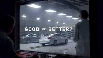 2016 Hyundai Sonata TV Spot, 'Good or Better?: Grind' - Thumbnail 1