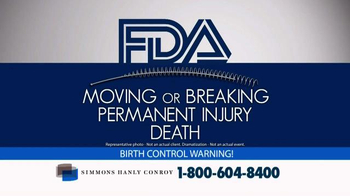 Simmons Hanly Conroy TV Spot, 'Essure Birth Control' - Thumbnail 2