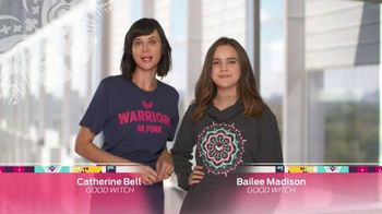 Ford Warriors in Pink TV Spot, 'Look Good, Feel Good' Feat. Catherine Bell