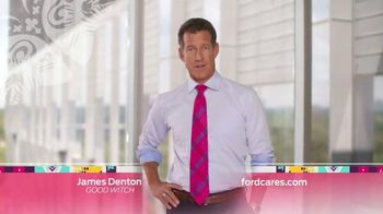 Ford Warriors in Pink TV Spot, 'Donate From Anywhere'  Feat. James Denton - 37 commercial airings