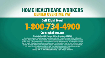 Crumley Roberts TV Spot, 'Home Healthcare Workers' - Thumbnail 4