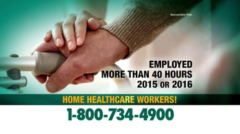 Crumley Roberts TV Spot, 'Home Healthcare Workers' - Thumbnail 1