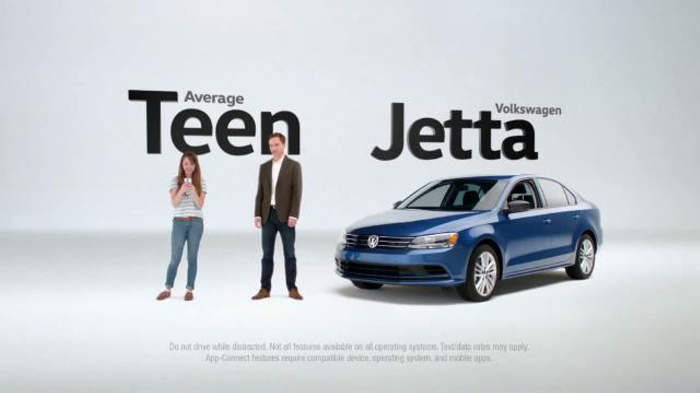 Ford Commercial Song >> 2016 Volkswagen Jetta TV Commercial, 'Texting Teen' - iSpot.tv