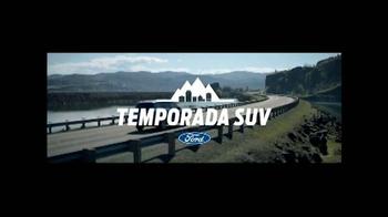 Ford Temporada SUV TV Spot, 'El mejor momento' [Spanish] - Thumbnail 1