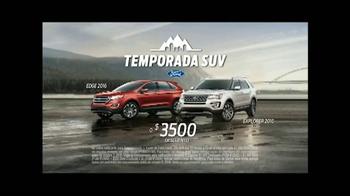 Ford Temporada SUV TV Spot, 'El mejor momento' [Spanish] - Thumbnail 7