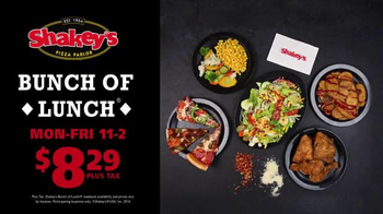 Shakey's Pizza Parlor Bunch of Lunch TV Spot, '$8.29!' - Thumbnail 10