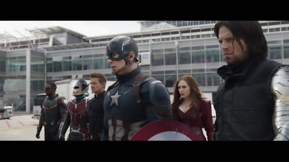 Captain America: Civil War Home Entertainment TV Spot