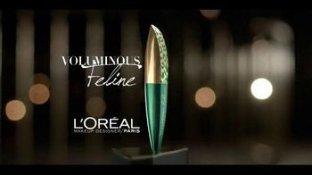 L'Oreal Paris Voluminous Feline Mascara TV Spot, 'Inner Wild Cat' - Thumbnail 7