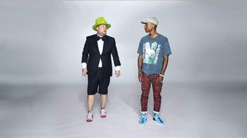Apple Music TV Spot, 'The All-New Apple Music' Feat. James Corden, Pharrell Williams