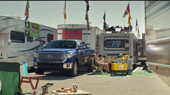 2017 Toyota Tundra TV Spot, 'Tailgating' Featuring Carl Edwards - Thumbnail 1