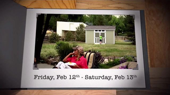Tuff Shed Two Day Sale TV Spot, 'Get a Jump on Spring' - Thumbnail 4